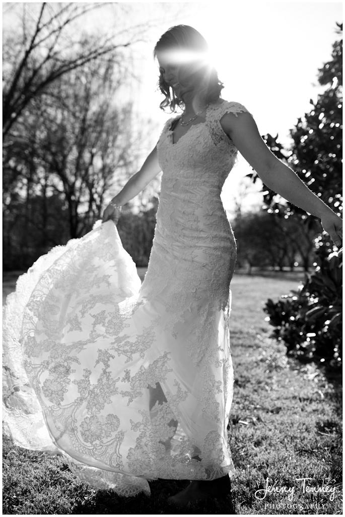 Hurley Park bridal portrait