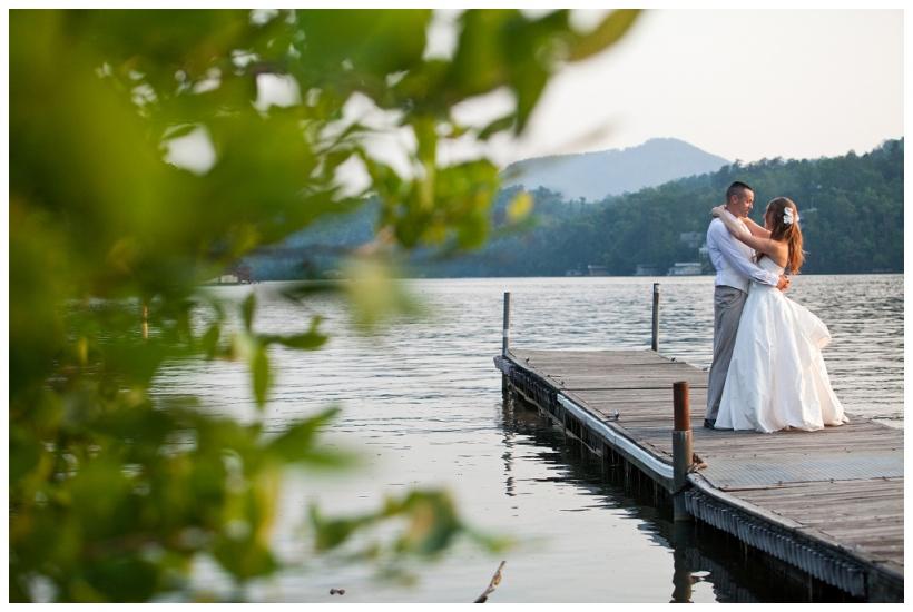 Rumbling Bald Resort wedding