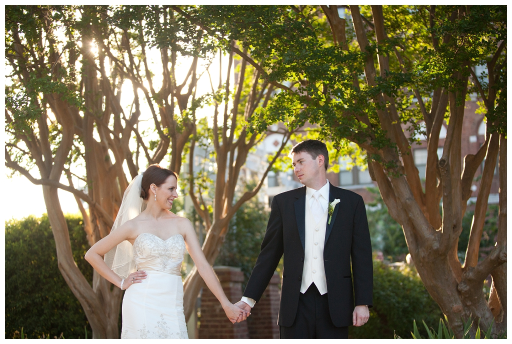 Ashley train wedding