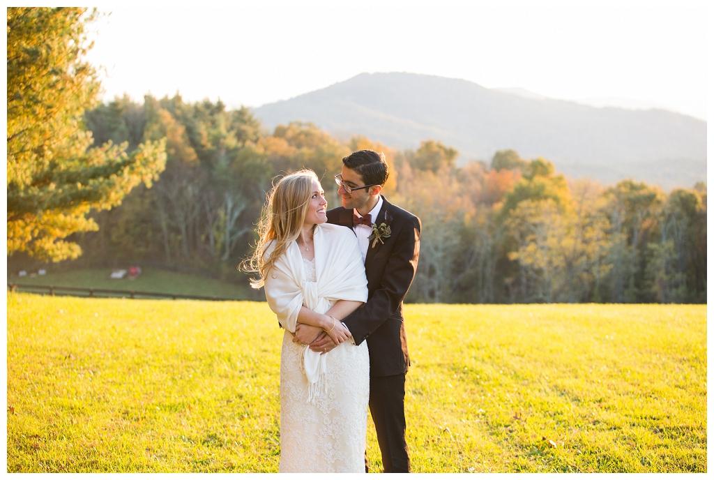 Bearwallow Mountain wedding