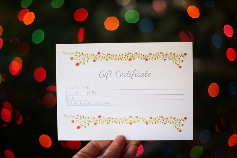 Jenny Tenney Photography gift certificate