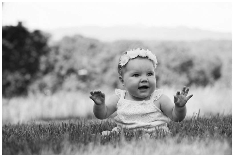 Biltmore Estate Family baby session