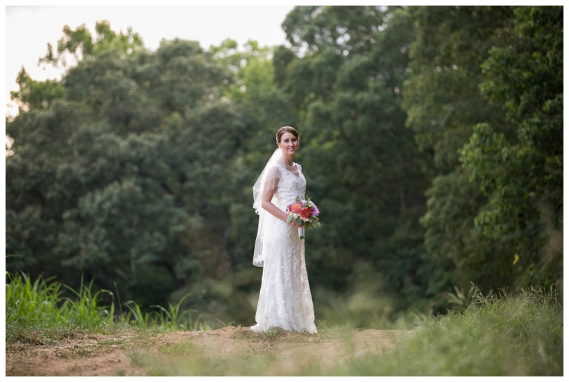Summerfield Farms Bridal Portrait, Relish Design Company, Alyssa Bridal Burlington NC